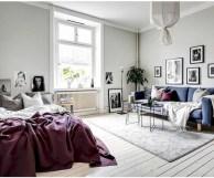 Scandinavian bedroom ideas for small apartment 11