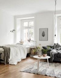 Scandinavian bedroom ideas for small apartment 15