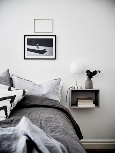 Scandinavian bedroom ideas for small apartment 30