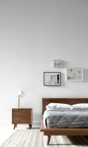 Scandinavian bedroom ideas for small apartment 35