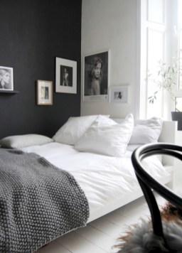 Scandinavian bedroom ideas for small apartment 50