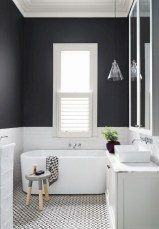 Simple bathroom ideas for small apartment 22