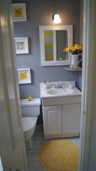 Simple bathroom ideas for small apartment 32