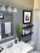 Simple bathroom ideas for small apartment 34