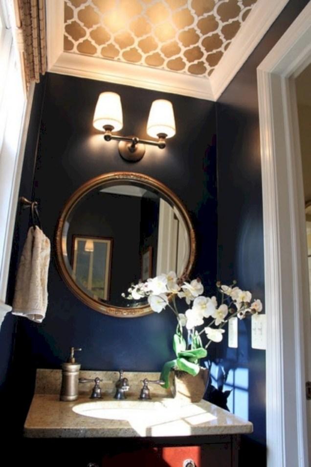 Simple bathroom ideas for small apartment 54