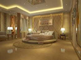 Simple bedroom design ideas with gold accents 04