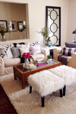 Simple decor that so perfect for rental apartment (44)