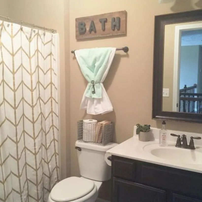 Small bathroom ideas on a budget (1)
