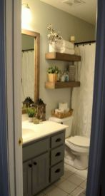 Small bathroom ideas on a budget (23)