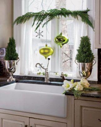Stunning christmas kitchen décoration ideas 13 13