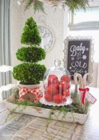 Stunning christmas kitchen décoration ideas 15 15