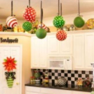 Stunning christmas kitchen décoration ideas 34 34
