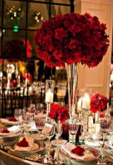 Stunning christmas table decorations ideas 31