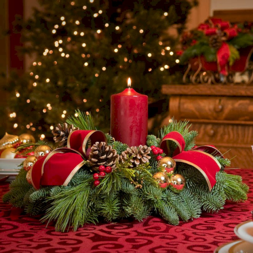 51 Stunning Christmas Table Decorations Ideas
