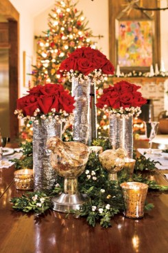Stunning christmas table decorations ideas 52