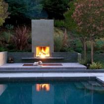Stunning outdoor stone fireplaces design ideas 35
