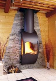 Stunning outdoor stone fireplaces design ideas 46