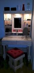 Stunning rustic makeup vanity ideas 20
