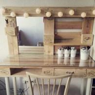 Stunning rustic makeup vanity ideas 31