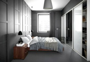 Stylish bedrooms with floor to ceiling windows 29