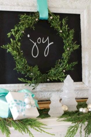 Stylish christmas décoration ideas with stylish black and white 07