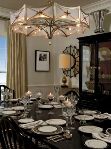 Stylish christmas décoration ideas with stylish black and white 09