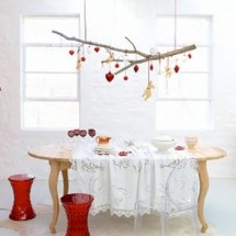 Stylish christmas décoration ideas with stylish black and white 10