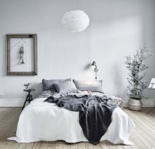 Stylish christmas décoration ideas with stylish black and white 13