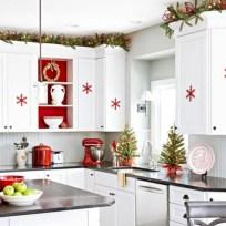 Stylish christmas décoration ideas with stylish black and white 26