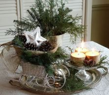 Stylish christmas decoration ideas using sleigh 21 21