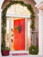 Stylish christmas decoration ideas using sleigh 35 35
