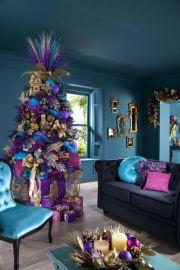 Stylish christmas decoration ideas using sleigh 48 48