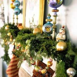Stylish christmas decoration ideas using sleigh 52 52