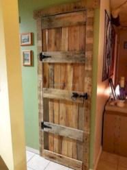 Unique diy bathroom ideas using wood (22)