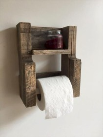Unique diy bathroom ideas using wood (33)