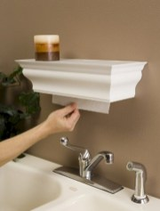 Unique diy bathroom ideas using wood (41)