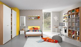 Unisex modern kids bedroom designs ideas 03