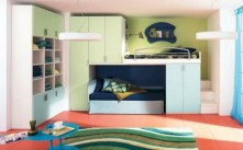 Unisex modern kids bedroom designs ideas 16
