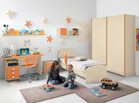 Unisex modern kids bedroom designs ideas 20