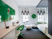 Unisex modern kids bedroom designs ideas 23