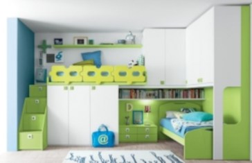 Unisex modern kids bedroom designs ideas 47
