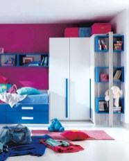 Unisex modern kids bedroom designs ideas 50
