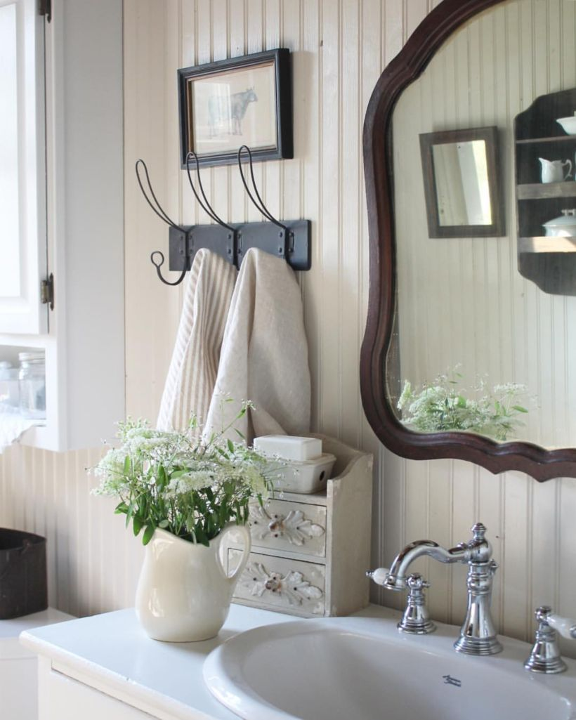 Vintage farmhouse bathroom ideas 2017 (12)