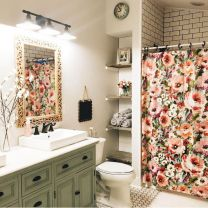 Vintage farmhouse bathroom ideas 2017 (15)