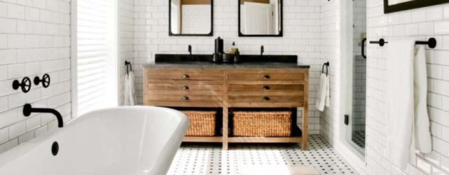 Vintage farmhouse bathroom ideas 2017 (2)