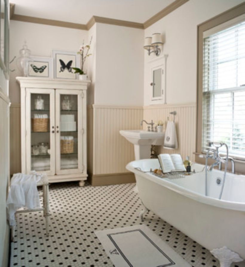 Vintage farmhouse bathroom ideas 2017 (9)