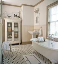 Vintage farmhouse bathroom ideas 2017 (9)