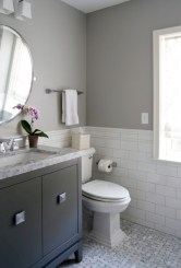Vintage paint colors bathroom ideas (16)
