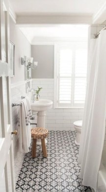 Vintage paint colors bathroom ideas (20)
