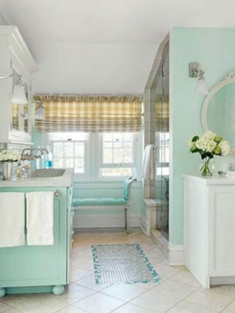 Vintage paint colors bathroom ideas (25)
